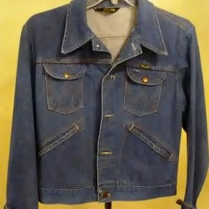 Vintage Wrangler Jean Jacket/ Coat